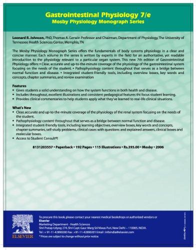 Gastrointestinal Physiology: Johnson