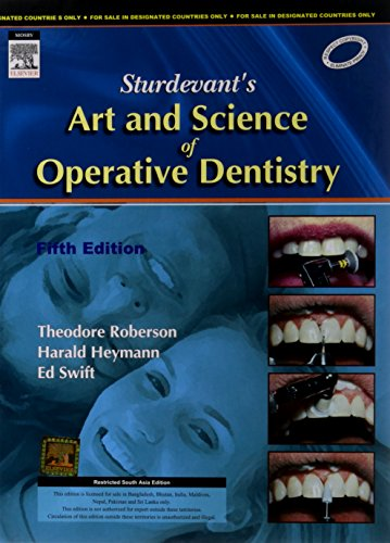 9788131204771: Sturdevant's Art and Science of Operative Dentistry Fifth Edition