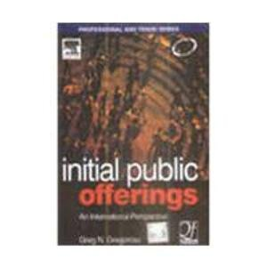 Initial Public Offerings: An International Perspective of IPOs: Greg N. Gregoriou