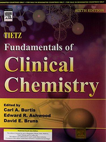 9788131213742: Tietz Fundamentals of Clinical Chemistry, 6e