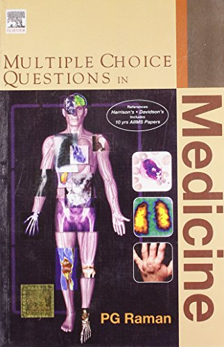 Multiple Choice Questions In Medicine: P. G. Raman