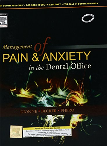 9788131218433: Management Of Pain & Anxiety In The Dental Office