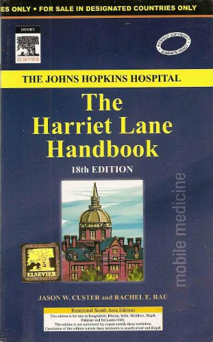 9788131219218: The Harriet Lane Handbook (International Edition)