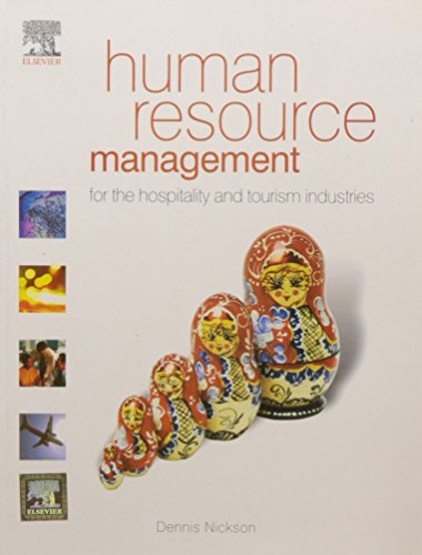 9788131220399: Human Resource Management For The Hospitality & Tourism Industries