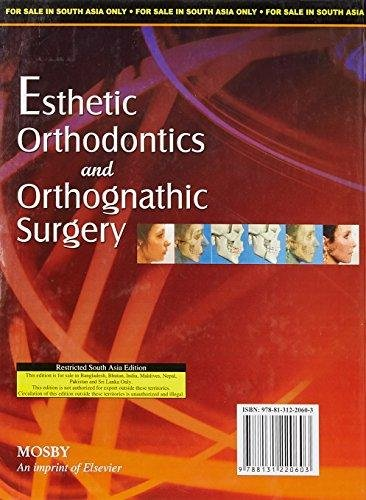 Esthetic Orthodontics And Orthognathic Surgery (Ex): Sarver D.M.