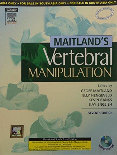 9788131220900: Maitlands Vertebral Manipulation, 7/E With Cd-Rom (Ex)