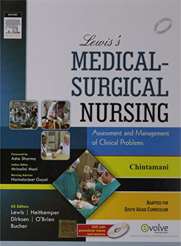 LEWIS'S MEDICAL SURGICAL NURSING ASSESSMENT AND MANAGEMENT: CHINTAMANI