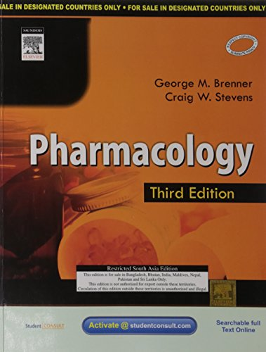 9788131223932: Pharmacology : Third Edition (Student Consult)