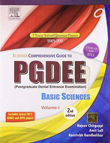 Elsevier Comprehensive Guide for PGDEE (Basic Sciences,: Chitguppi