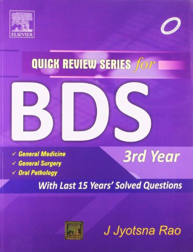 9788131225387: QRS for BDS III Year