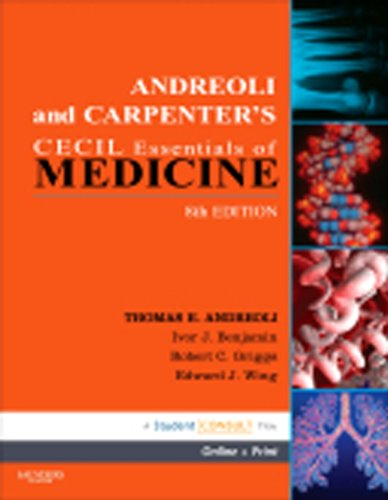 9788131226483: Andreoli and Carpenter's Cecil Essentials of Medicine (English) 8th Edition by Thomas E Andreoli (2010-07-31)