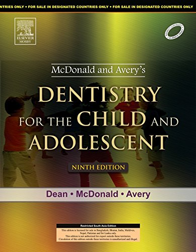 9788131226513: McDonald and Avery Dentistry for the Child and Adolescent, 9/e