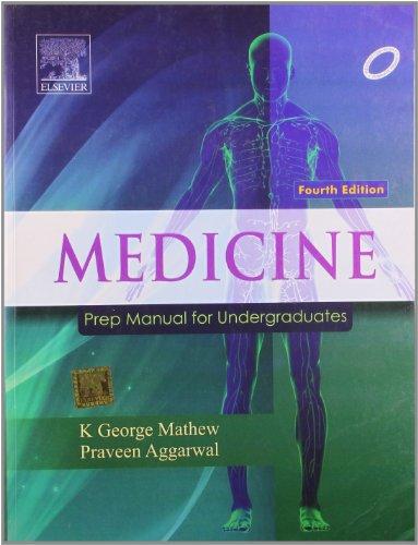 Medicine Prep Manual For Undergraduates 4Ed (Pb: Mathew K.G.