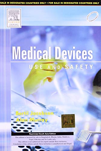 9788131228340: Medical Devices: Use and Safety