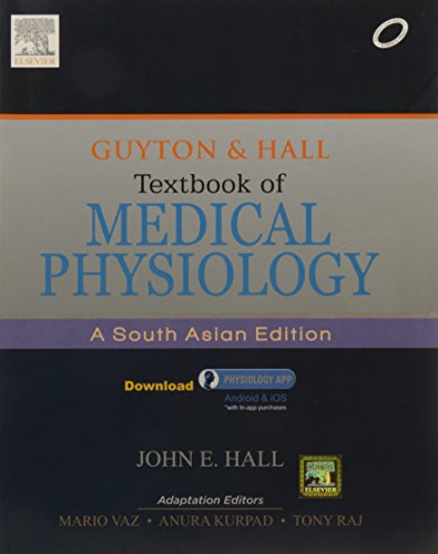 9788131230190: Guyton & Hall Textbook of Medical Physiology: A South Asian Edition, 1e