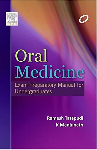 9788131231012 - Tatapudi: Oral Medicine: Exam Preparatory Manual for Undergraduates - पुस्तक