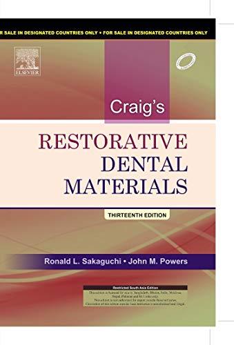 9788131232705: Craig's Restorative Dental Materials, 1e