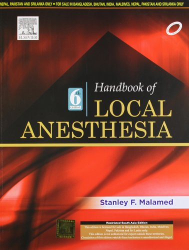 9788131233429: Handbook of Local Anesthesia