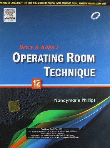 9788131233443: Berry & Kohn's Operating Room Technique