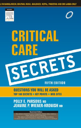 9788131234891: Critical care secrets 5ed