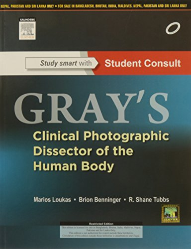 9788131234945 - Loukas: Gray's Clinical Photographic Dissector of the Human Body:with STUDENT CONSULT Online Access - पुस्तक