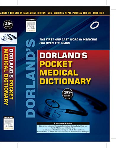 9788131235010: FAST SHIP - DORLAND 29e Dorland's Pocket Medical Dictionary AY2