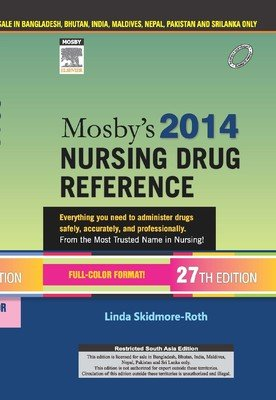 9788131235171: Mosby's 2014 Nursing Drug Reference (Pb 2013) (English) 27th Edition