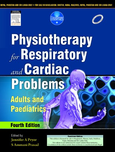 9788131236345: Physiotherapy for Respiratory and Cardiac Problems: Adults and Paediatrics
