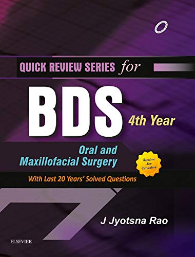 9788131237786: QRS for BDS 4th Year: Oral and Maxillofacial Surgery