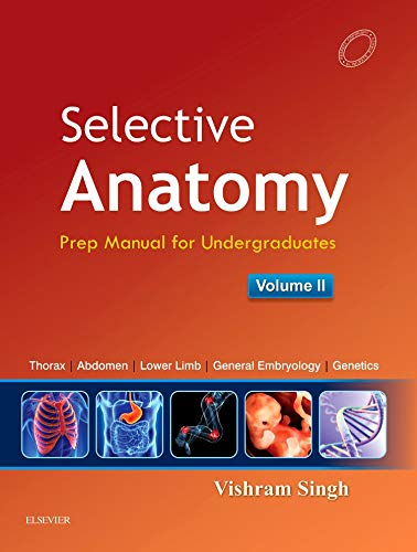 9788131237977: Selective Anatomy Vol 2: Preparatory manual for undergraduates
