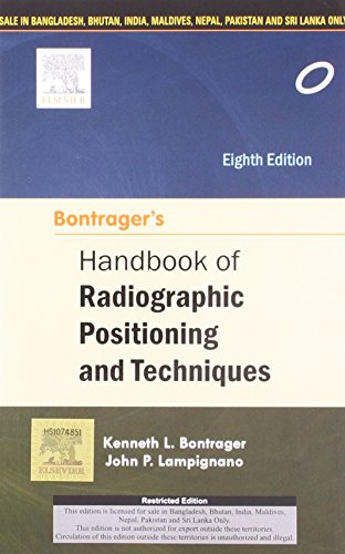 9788131238172: Bontrager's Handbook of Radiographic Positioning and Techniques , 8/e