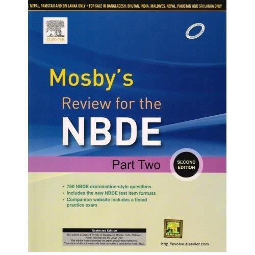9788131238875: Mosby's Review for the NBDE Part II, 2 Ed.