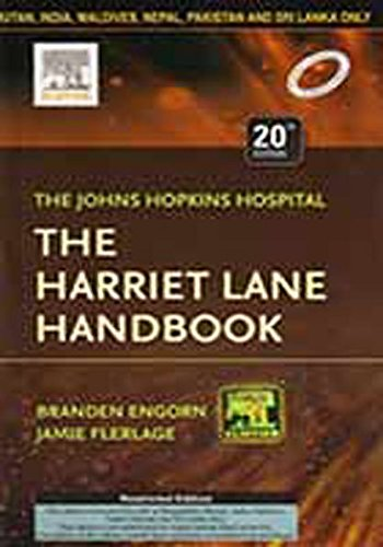 9788131238905: The Harriet Lane Handbook : Mobile Medicine Series 20/e