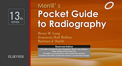 9788131245514: Merrill's Pocket Guide to Radiography