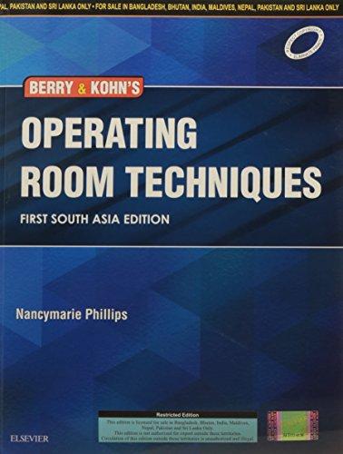 9788131247020: Berry & Kohn's Operating Room Technique
