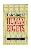 Teaching of Human Rights: Kaur Manjot