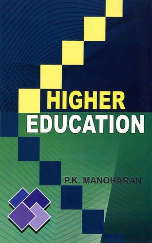 Higher Education: Manoharan P.K.