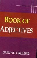 Book of Adjectives (9788131307212) by Grenville Kleiser