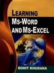 9788131309391: Learning MS-Word and MS-Excel