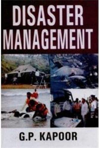 Disaster Management: Kapoor G.P.