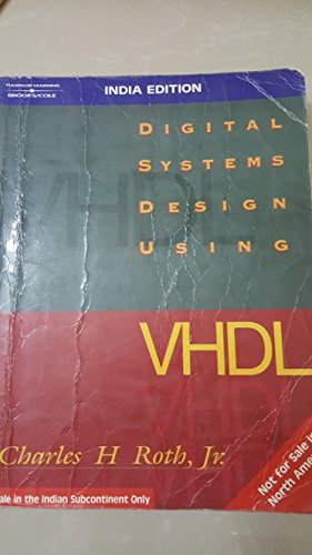 9788131500279 Digital Systems Design Using Vhdl Electrical Engineering S Abebooks 8131500276