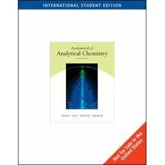 9788131500514: Fundamentals of Analytical Chemistry