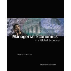 9788131500989: Managerial Economics in a Global Economy