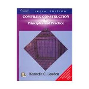 9788131501320: Compiler Construction : Principles and Practice