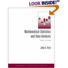 9788131501832: Mathematical Statistics and Data Analysis with CD Data Sets 3rd Edition by John A. Rice (2006) Paperback