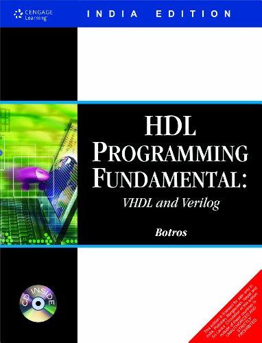 9788131502013: HDL Programming Fundamentals: VHDL and Verilog (Davinci Engineering)