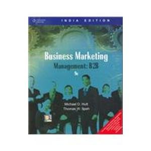 9788131502051: Business Marketing Management