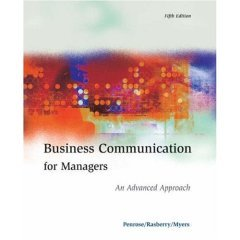 Business Communication For Manager An Advanced Approach: Penrose