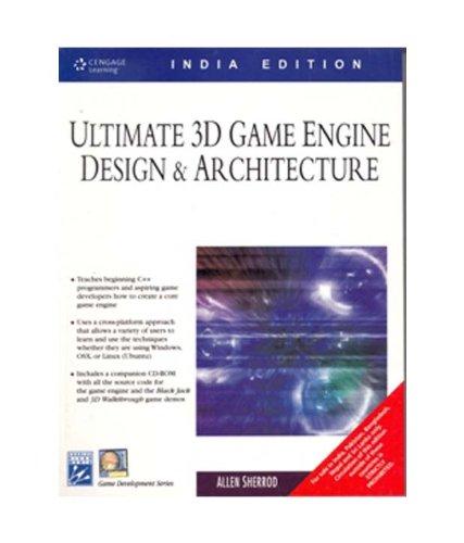 9788131502709: Ultimate 3D Game Engine Design & Architecture with CD [Paperback] [Jan 01, 2006] Allen Sherrod