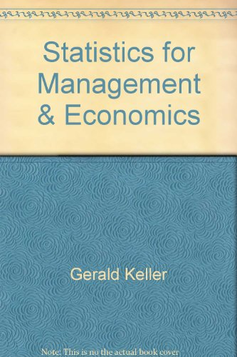 9788131502754: Statistics for Management and Economics